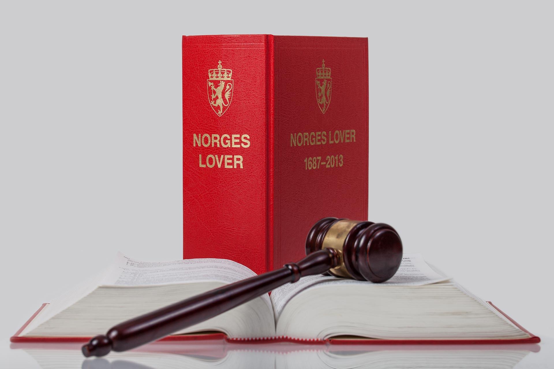 autleie.no (Norges lover og dommerhammer)