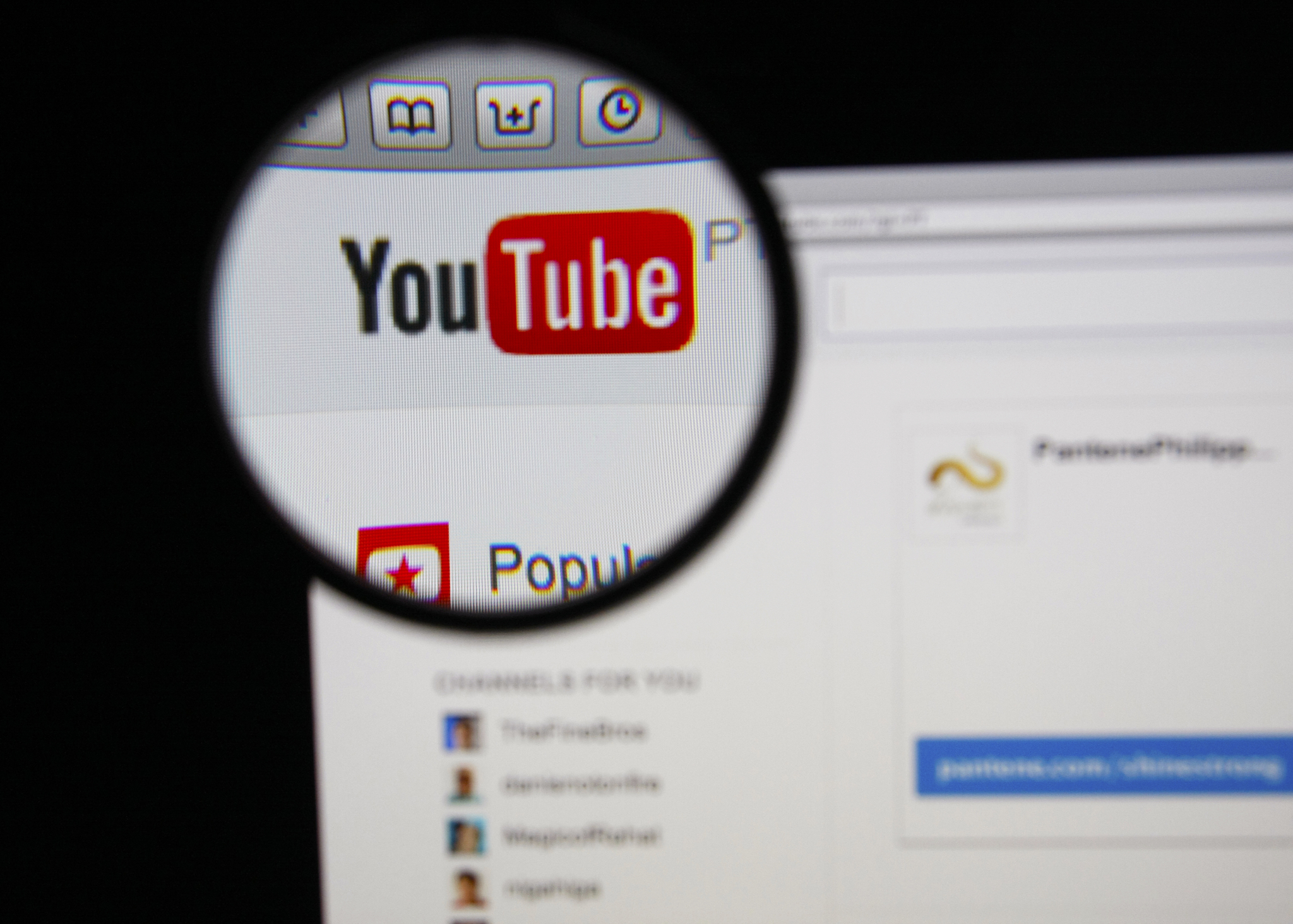 Bildetyveri.no godkjent for YouTube. (Foto: GilbertC, Dreamstime)