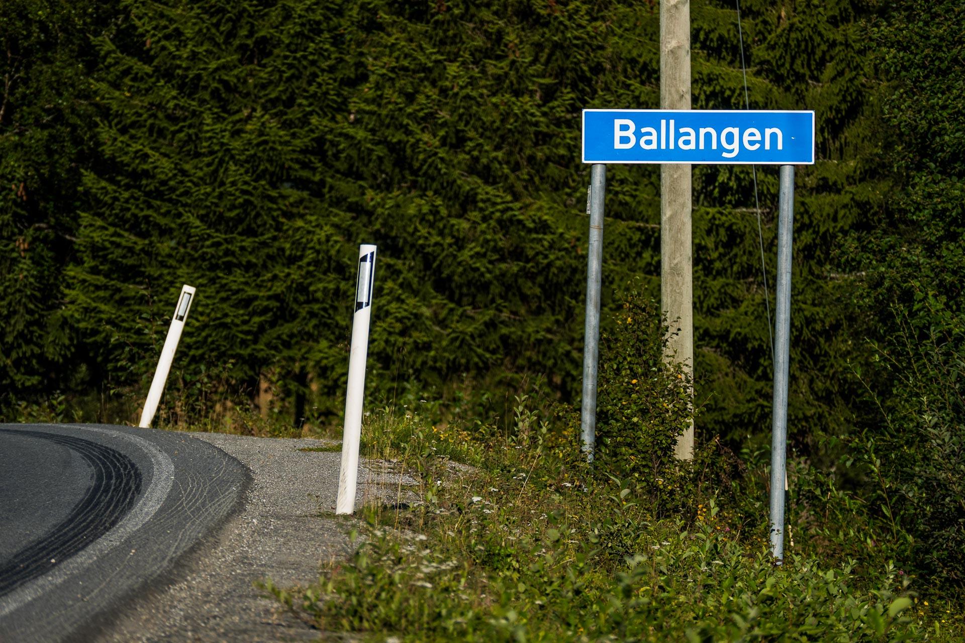 Balnytt (Ballangen stedsnavnskilt)