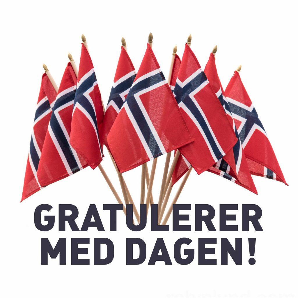 Stavanger terapisenter  (Flaggbukett gratulasjon), betalt