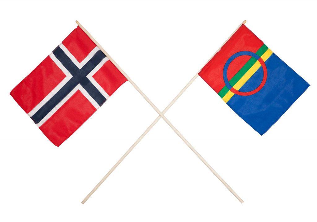 Kvænangen menighet (Samisk-norsk flaggkryss), purret