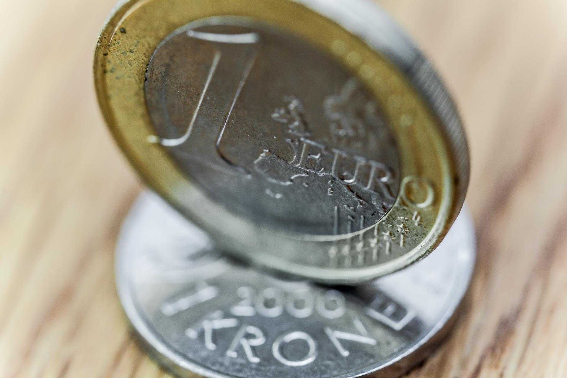 Aidas Norvegijoje (Euro over norsk krone)
